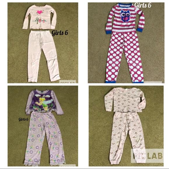 0d13e3d54 Carter's Pajamas | Girls 6 Long Sleeve Sets Lot Of 4 Sets | Poshmark
